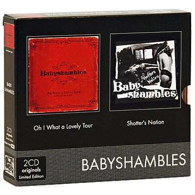 Babyshambles Oh What A Lovely Tour Live / Shotter's Nation Limited Edition (2 CD + DVD) Формат: 2 CD + DVD (Box Set) Дистрибьюторы: EMI Records Ltd , Gala Records Европейский Союз Лицензионные инфо 9571g.