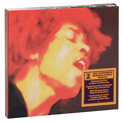Jimi Hendrix The Jimi Hendrix Experience: Electric Ladyland (CD + DVD) Формат: CD + DVD (DigiPack) Дистрибьюторы: Experience Hendrix, L L C , SONY BMG Лицензионные товары инфо 9636g.